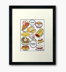 221b Bakery Street Framed Print