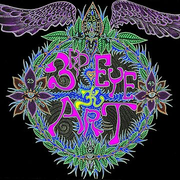 JJ's 3rd Eye Art Logo by mingusthecat