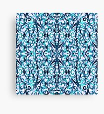 Floral Abstract Pattern G22 Canvas Print