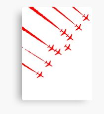 Red Planes Canvas Print