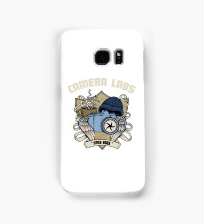 Cameralabs Photography Crest (Camera, Coffee, Beanie) Samsung Galaxy Case/Skin