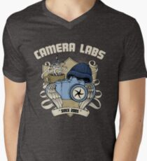 Cameralabs Photography Crest (Camera, Coffee, Beanie) T-Shirt