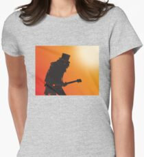Slash Womens Fitted T-Shirt