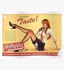 THAT DISTINCTIVE TASTE! Poster
