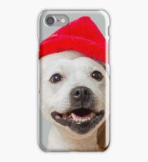 Sumi-e Christmas cushion iPhone Case/Skin