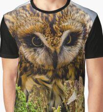 Short eared Owl  Graphic T-Shirt