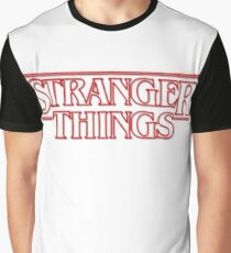 stranger things tv show horror t shirts Graphic T-Shirt