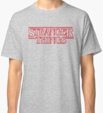 stranger things tv show horror t shirts Classic T-Shirt