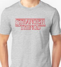 stranger things tv show horror t shirts T-Shirt