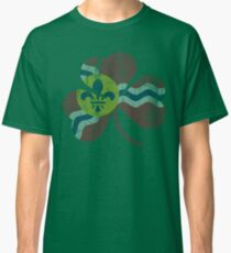 Vintage Flag of St Louis Irish Shamrock Classic T-Shirt