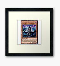 Blue Eyes Darkness Dragon Framed Print