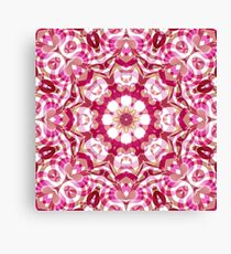 Floral Abstract Pattern Canvas Print