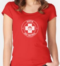 Hoth Ski Patrol Women's Fitted Scoop T-Shirt