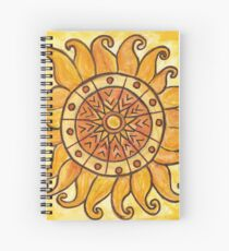 Connected in Energy Mandala Spiral Notebook