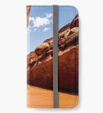 Lower Coyote Gulch - Grand Staircase - Escalante, Utah iPhone Wallet/Case/Skin
