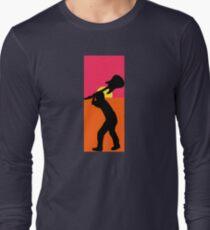 Pop Art Guitar Smash Endless Long Sleeve T-Shirt