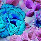 Inverted rose by Arie Koene