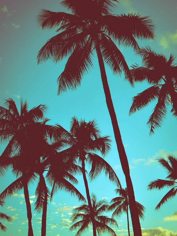 Vintage tropische Palmen von mrdoomits