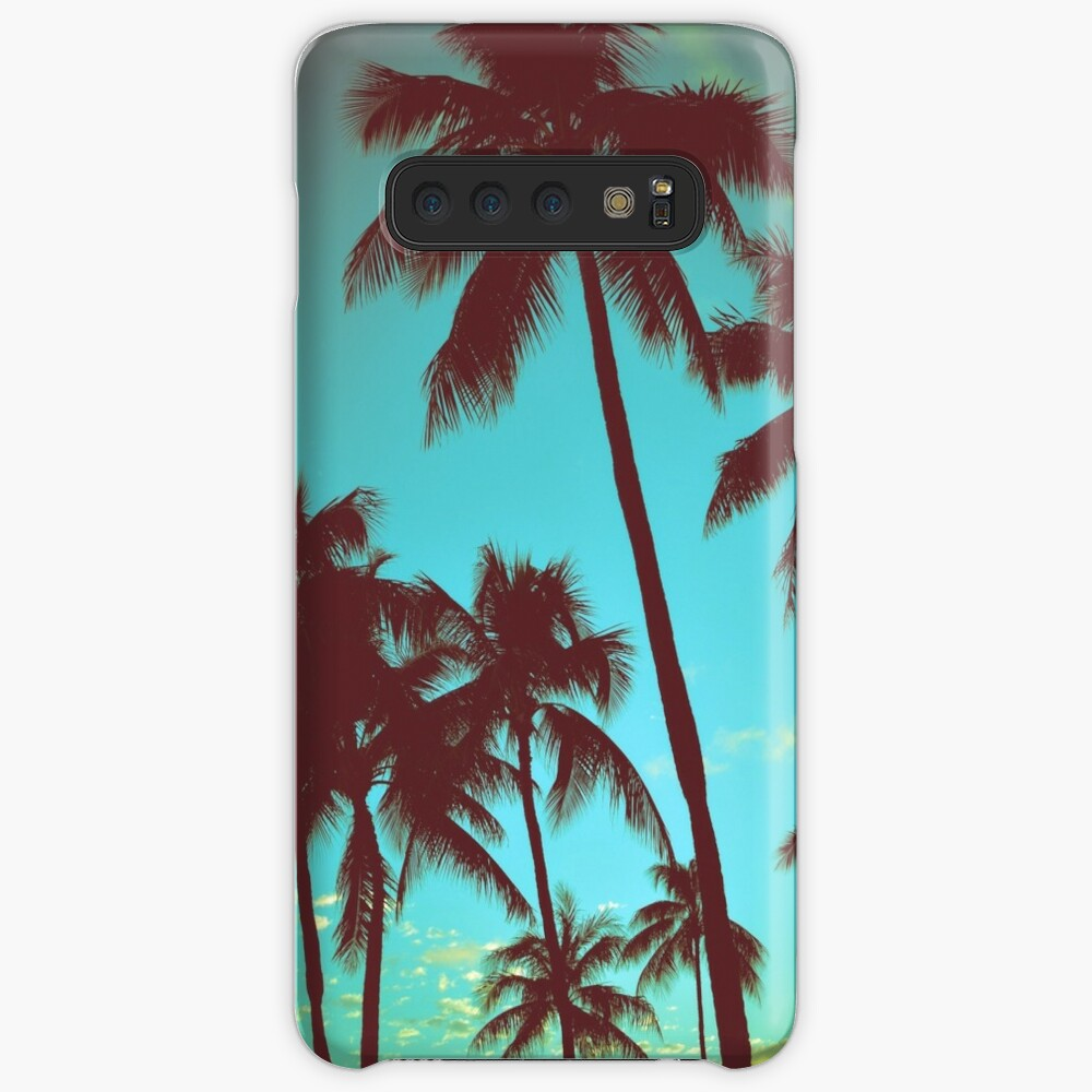 Vintage Tropical Palms Cases & Skins for Samsung Galaxy