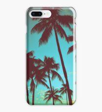 Vintage Tropical Palms iPhone 8 Plus Case