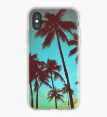 Vintage Tropical Palms iPhone Case