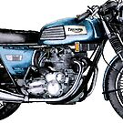 A TRIUMPH TRIDENT by JohnLowerson