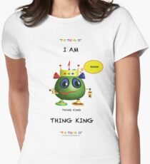 I am Thing King Women's Fitted T-Shirt