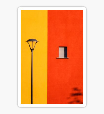 Streetlamp, window and wall Sticker