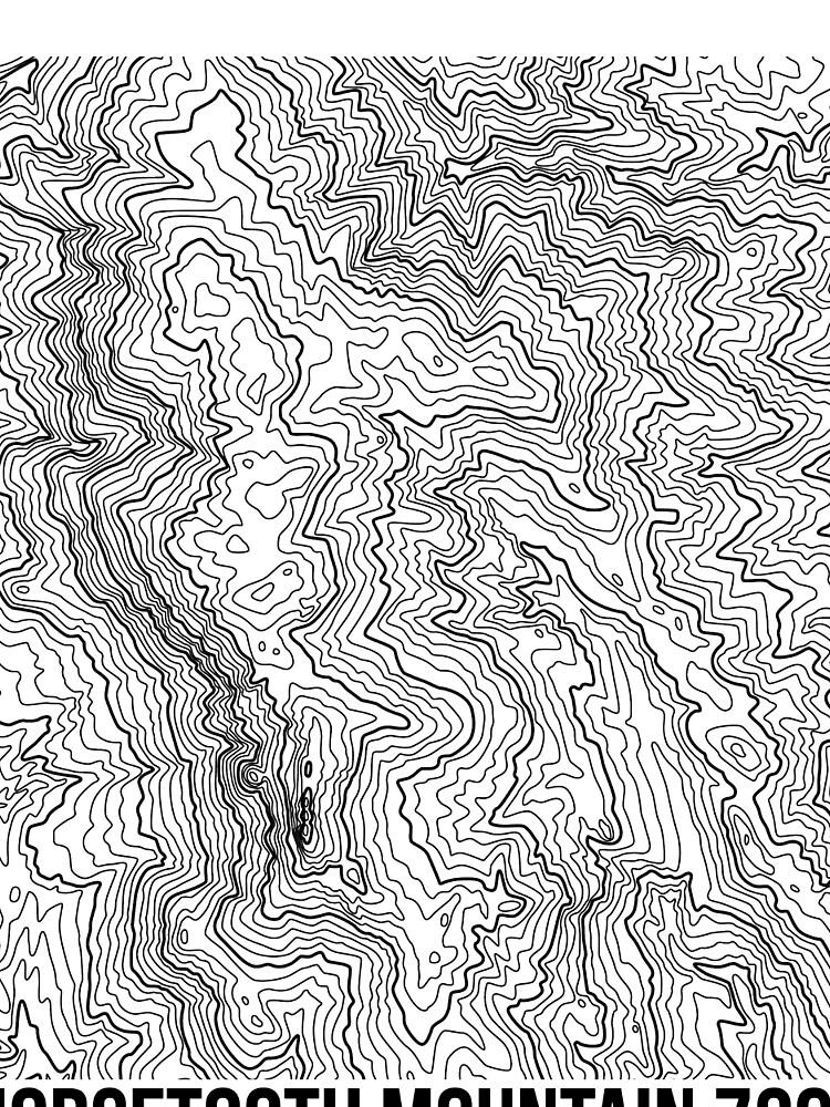 Horsetooth Berg Topo von januarybegan