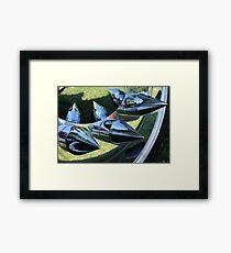 ♦ BULLETS ♦  Framed Print