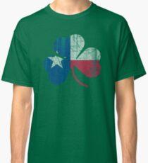 Irish Flag of Texas Shamrock Classic T-Shirt