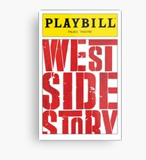 West Side Story Playbill Metal Print