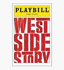 West Side Story Playbill Photographic Print