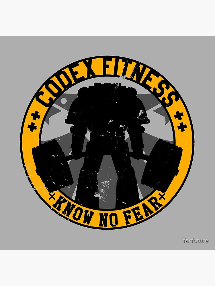 Know No Fear (large badge) by farfuture