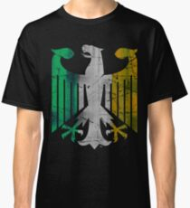 Vintage German Eagle Flag of Ireland Classic T-Shirt