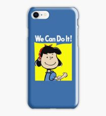 Lucy The Riveter iPhone Case/Skin