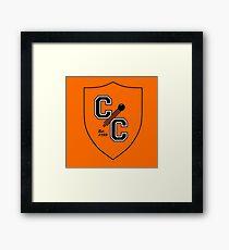 Chudley Cannons Logo Framed Print
