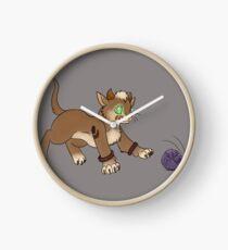 Druid Kitty 2 Clock