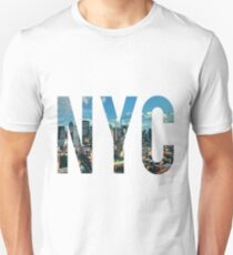 NEW YORK CITY. Unisex T-Shirt