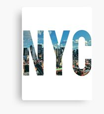 NEW YORK CITY. Canvas Print