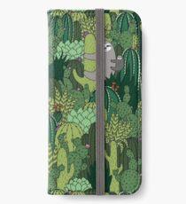 Cactus Sloth iPhone Wallet/Case/Skin