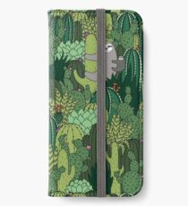 Cactus Sloth iPhone Wallet/Case/Skin