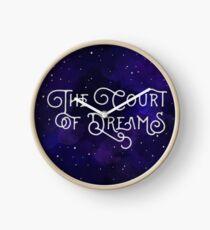 Das Gericht der Träume Uhr