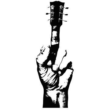 Gitarren-Mittelfinger von TheFlying6