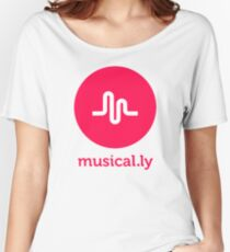 musical.ly musically Women's Relaxed Fit T-Shirt
