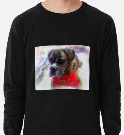Mein Strumpf bereit für Santa - Boxer Dogs Series Leichtes Sweatshirt