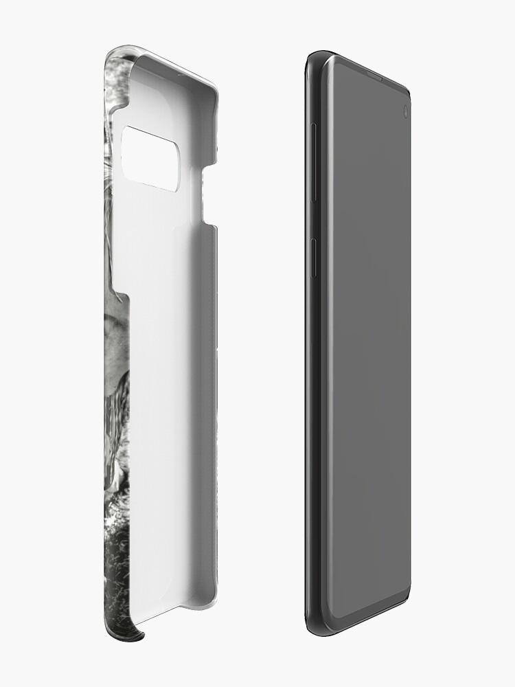 Alternate view of Burning Memories Case & Skin for Samsung Galaxy