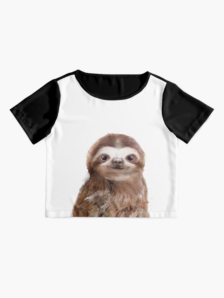 Alternate view of Little Sloth Chiffon Top