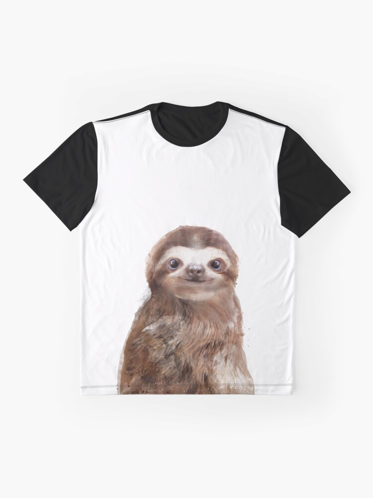 Alternate view of Little Sloth Graphic T-Shirt