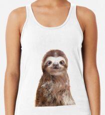 Little Sloth Racerback Tank Top